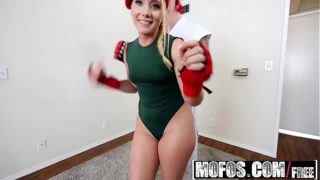Mofos – I Know That Girl – Video Game Cosplay Fuck starring  AJ Applegate and Chad Alva